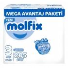 Molfix Bebek Bezi Mega Avantaj Paket Midi 3 No 205 li