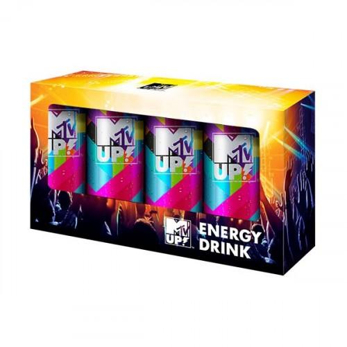 MTV UP! Classic Enerji İçeceği 250 ml x 4 Adet