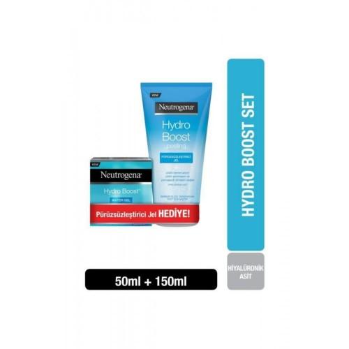 Neutrogena Hydro Boost Water Gel 50 ml + Peeling Jel 150 ml