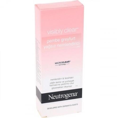 Neutrogena Visibly Clear Pembe Greyfurt Yağsız Yüz Nemlendirici 50 ml