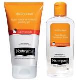 Neutrogena Visibly Clear Siyah Nokta Temizleyici Peeling + Tonik Set