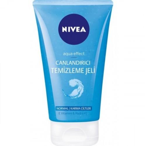 Nivea Aqua Effect Canlandırıcı Temizleme Jeli Normal/Karma Cilt 150 ml