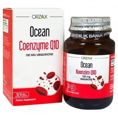 Ocean Koenzim Q10 100 mg 30 Kapsül