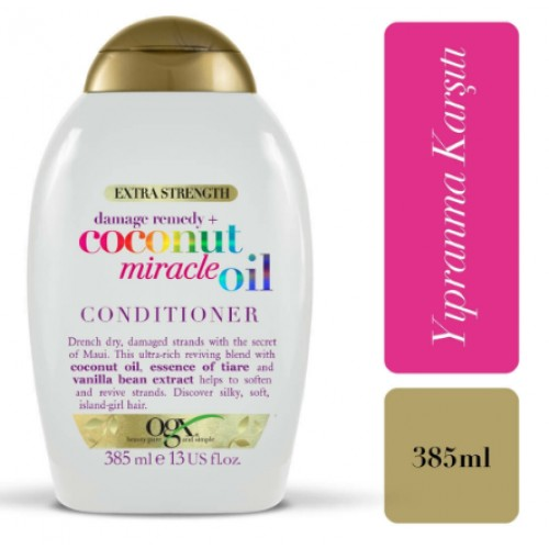 Ogx Coconut Miracle Oil Saç Kremi 385 ml