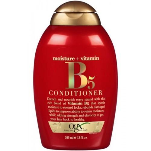 Ogx Moisture + Vitamin B5 Yavaş Uzayan Saçlar İçin Saç Kremi 385 ml