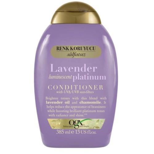 Ogx Sarı Saçlar Renk Koruyucu Lavender Platinum Bakım Kremi 385 ml