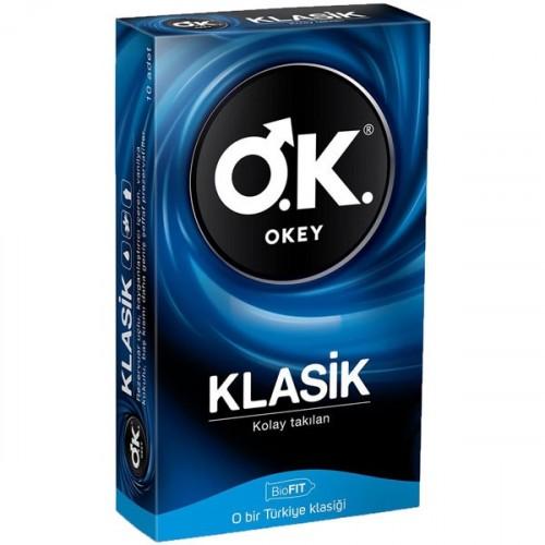 Okey Klasik Prezervatif 10 lu