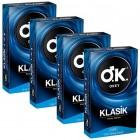 Okey Klasik Prezervatif 10 lu x 4 Adet