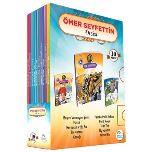 Ömer Seyfettin Hikayeleri (10 Kitap Takım) - Ömer Seyfettin