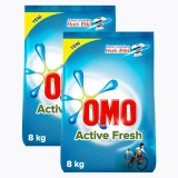 Omo Active Fresh Toz Deterjan 8 kg x 2 Adet