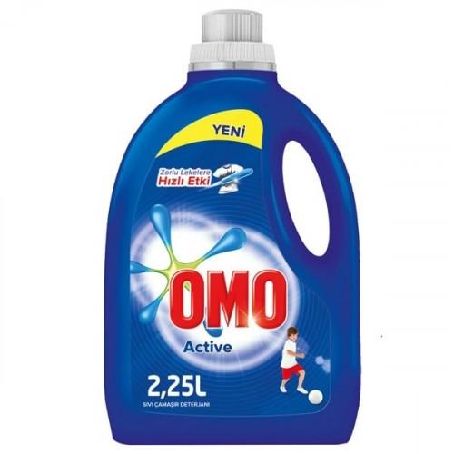Omo Sıvı Çamaşır Deterjanı Active 2250 ml