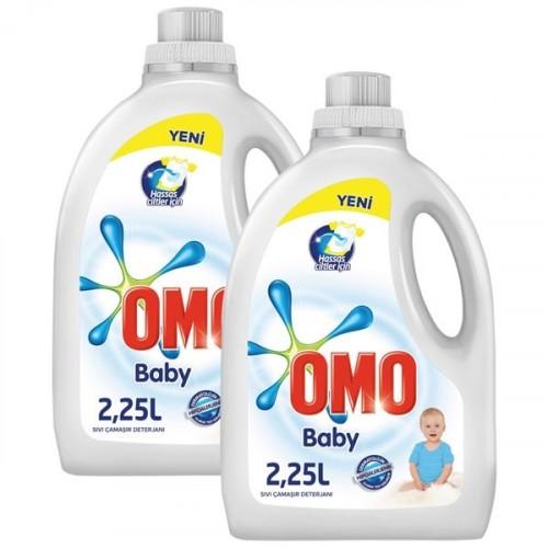 Omo Sıvı Çamaşır Deterjanı Baby 2250 ml x 2 Adet