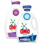 Omo Sıvı Deterjan Active 1950 ml + Color 1950 ml