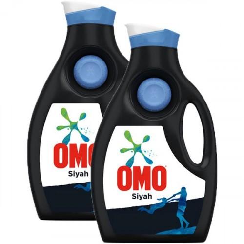 Omo Sıvı Deterjan Siyahlar İçin 1950 ml x 2 Adet