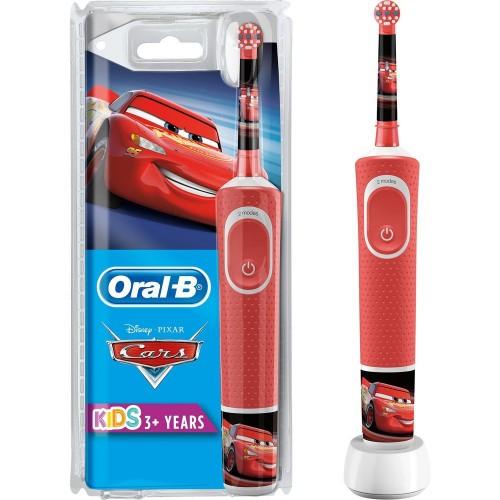 Oral-B Çocuklar İçin Şarj Edilebilir Diş Fırçası D100 Cars Özel Seri