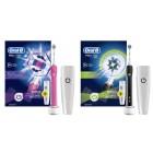Oral-B Pembe ve Siyah Pro 750 Şarj Edilebilir Diş Fırçası Kap Hediyeli