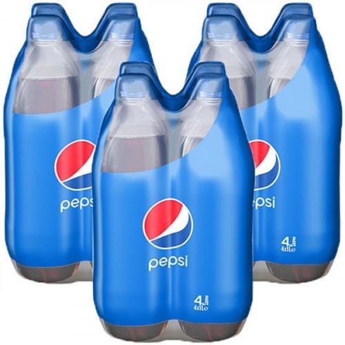 Pepsi Cola Pet 4x1 lt x 3 Adet