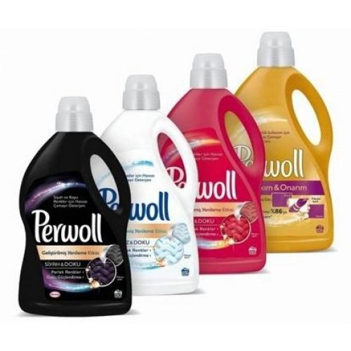 Perwoll Hassas Sıvı Çamaşır Deterjanı Karma Set 3 lt ( 4 çeşit )