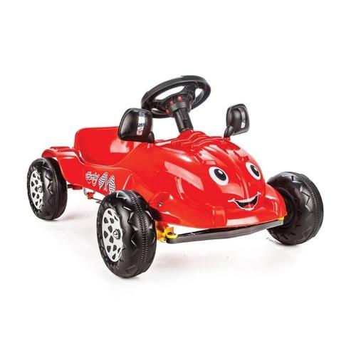 Pilsan Herby Pedallı Araba (Kırmızı) 07 302