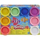 Play-Doh 8'li Hamur Gökkuşağı Renkleri  e5044