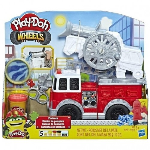 Play-Doh Çalışkan İtfaiye Aracı E6103