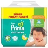 Prima Bebek Bezi Süper Fırsat Paketi Maxi Plus 4+ No 78 li