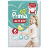 Prima Pants Külot Bebek Bezi Deneme Paketi 6 Beden 15 Adet