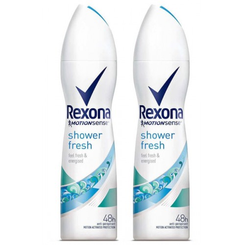 Rexona Women Deodorant Shower Fresh 150 ml x 2 Adet