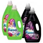 Rinso Sıvı Deterjan Siyah 3000 ml x 2 + Canlı Renkler 3000 ml x 2