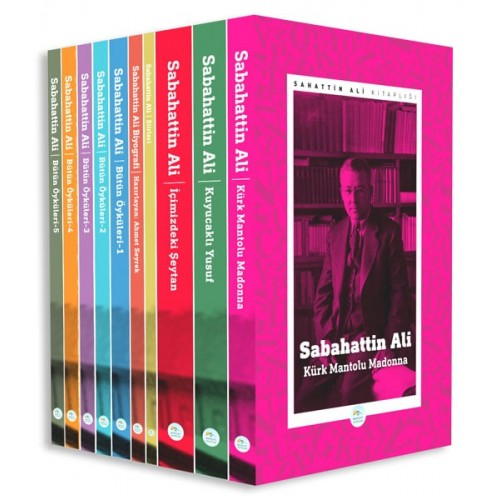 Sabahattin Ali Kitaplığı Seti 10 Kitap - Sabahattin Ali