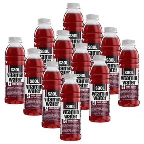 Saol Vitamin Water Men Power 500 ml x 12 Adet