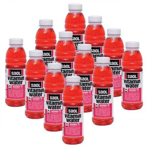 Saol Vitamin Water Women Fit 500 ml x 12 Adet