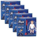Sleepy Jeans Külot Bez Junior 24 Lü x 5 Adet