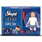 Sleepy Jeans Külot Bez Maxi 4 No 30 lu