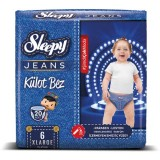 Sleepy Jeans Külot Bez X-Large 6 No 20 li