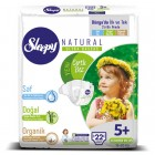 Sleepy Natural Bebek Bezi Junior Plus 5+ 22 li
