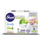 Sleepy Natural Bebek Bezi Midi 3 No 34 lü