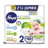 Sleepy Natural Bebek Bezi Mini 2 No 42 li x 4 Adet