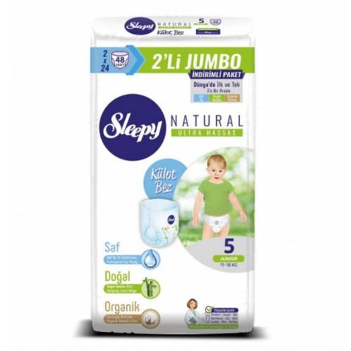 Sleepy Natural Külot Bez Junior 5 No 48 li