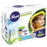 Sleepy Natural Külot Bez Junior Plus 5+ No 22 li