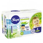 Sleepy Natural Külot Bez Maxi 4 No 30 lu