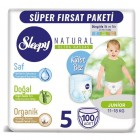 Sleepy Natural Külot Bez Mega Paket Junior 5 Beden 100 Adet
