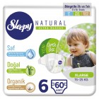 Sleepy Natural Külot Bez X Large 6 No 60 lı