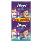 Sleepy Sensitive Bebek Bezi Jumbo Paket Extra Large 6 Beden 56 lı