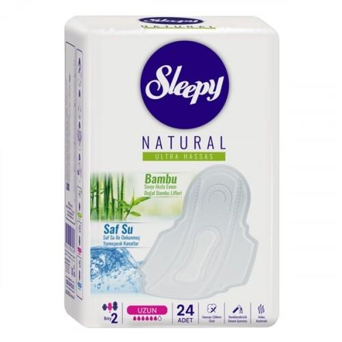 Sleepy Natural Hijyenik Ped Ultra Hassas Uzun