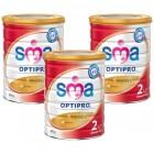 SMA 2 Optipro Devam Sütü 800 gr x 3 Adet