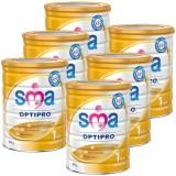 SMA 1 Optipro Bebek Sütü 800 gr x 6 Adet