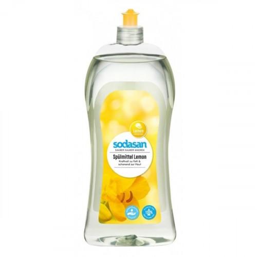 Sodasan Organik Elde Bulaşık Deterjanı Limonlu 1 lt
