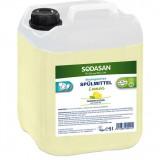 Sodasan Organik Elde Bulaşık Deterjanı Limonlu 5 lt