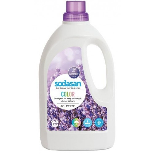 Sodasan Sıvı Çamaşır Deterjanı Lavanta 1,5 lt
